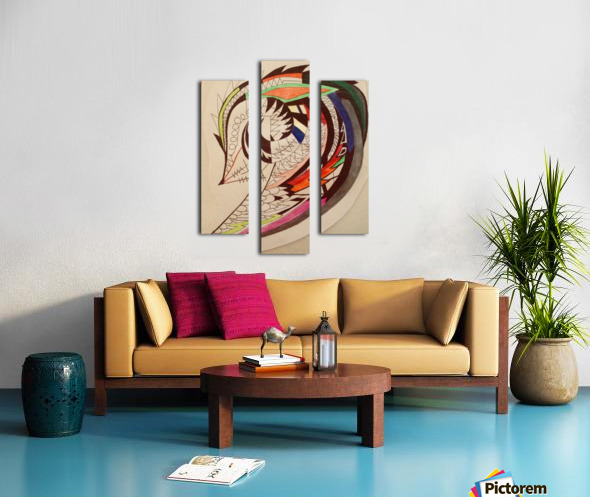 Warrior Wings Canvas print