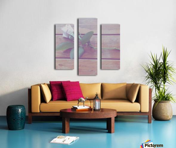 LOST love Canvas print