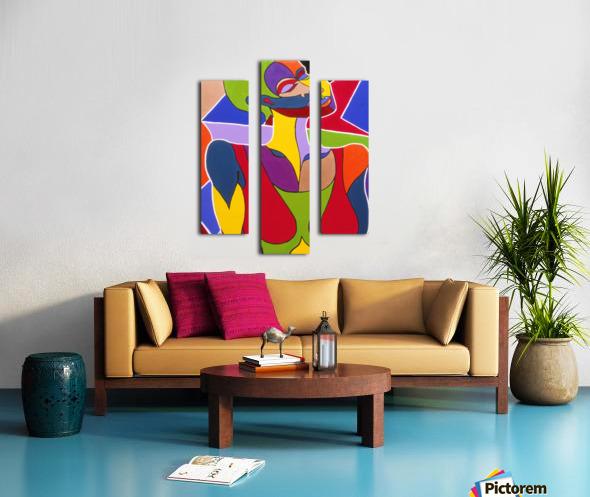 Cosmic Woman  Canvas print