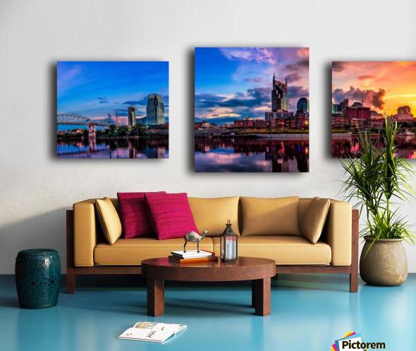 Nashville Skyline Canvas print