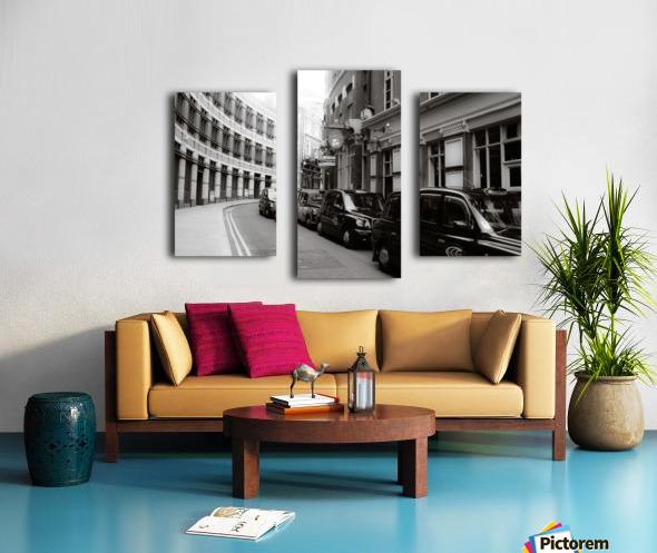 Cabs Canvas print