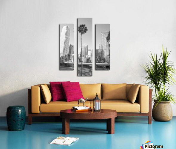 DTLA Palm Tree Canvas print
