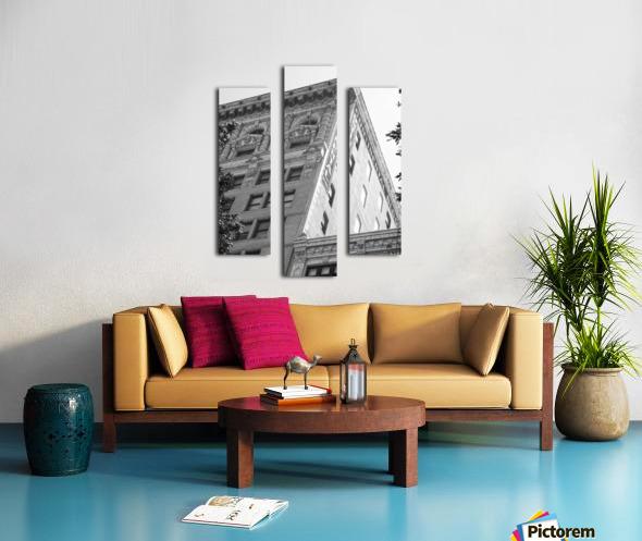 Continental Building DTLA - B&W Canvas print