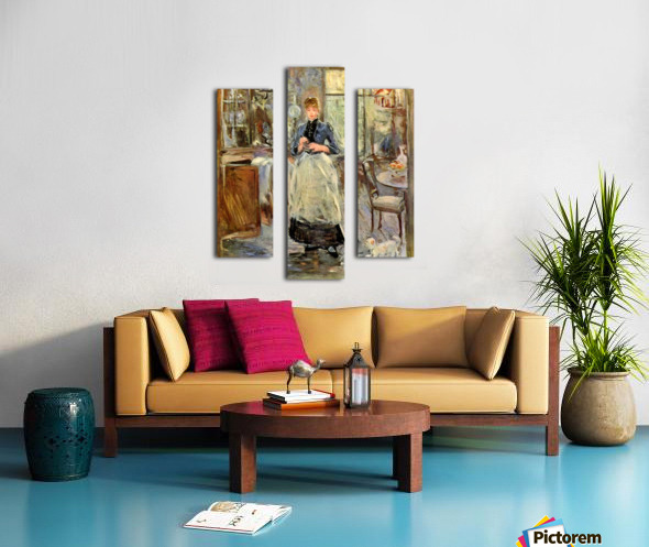 In the Dining Room Canvas print