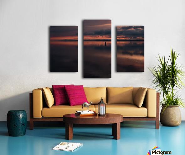 The Last Hour - La Derniere Heure Canvas print