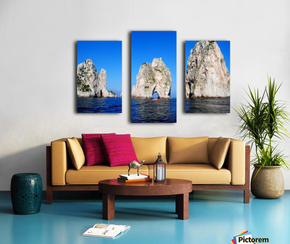Three Sirens Canvas print