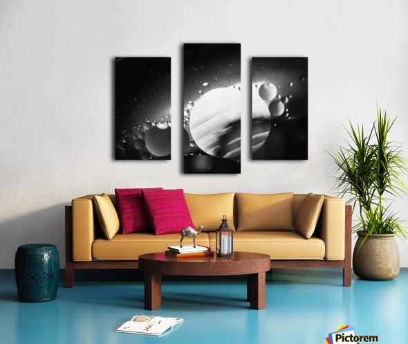 Micro Galaxy - Micro Galaxie Canvas print