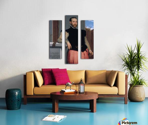 Portrait of Prospero Alessandri Canvas print