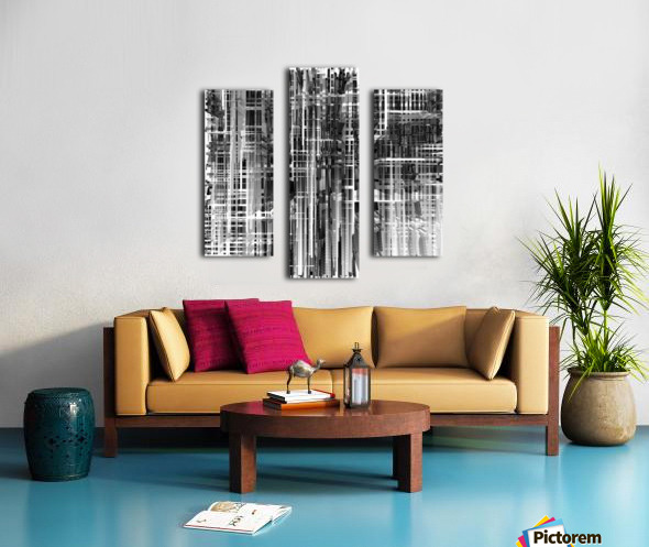 Construction Canvas print