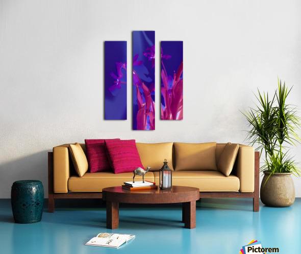 REVERSE TULIPS Canvas print