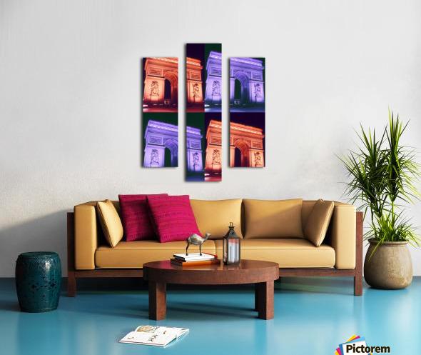 ARC at MIDNIGHT Canvas print