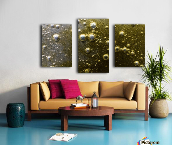 Gold Rush - Ruee vers l Or Canvas print