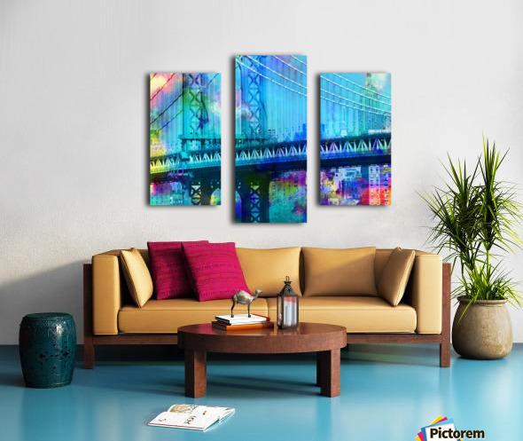 Manhattan Bridge Canvas print