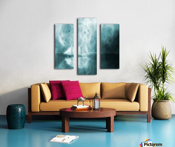 Moonlight Cruise Canvas print