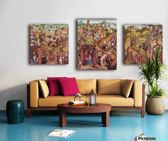 Die sieben Freuden Mariens Canvas print