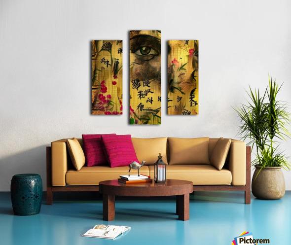 Asia Woman Canvas print