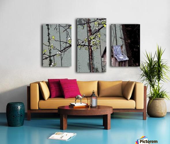 Birds & Blooms Canvas print
