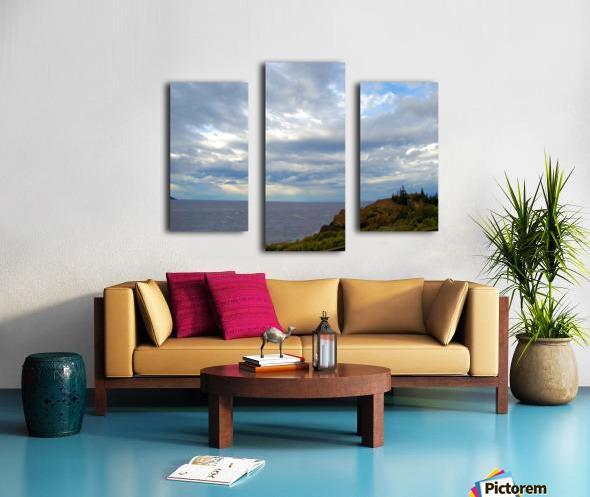 Hwy 9 to Seward Canvas print