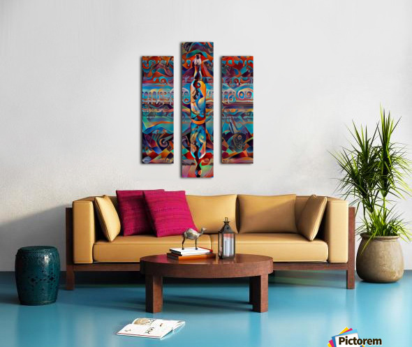 Colors in the bottle Impression sur toile