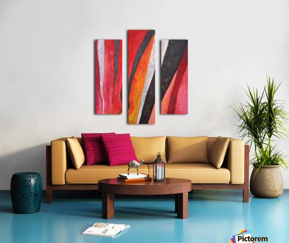 Flames (v)_1526764981.53 Canvas print