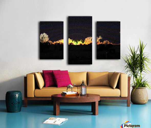 I Dreamed A Sunset Canvas print