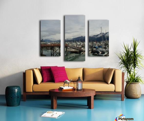 Seward Habor Canvas print