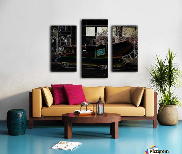 Weinermobile Canvas print
