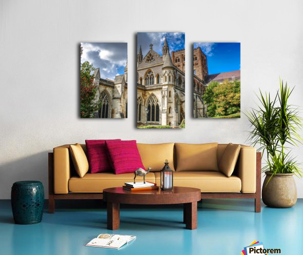 The Cathedral - England Landmarks Canvas print