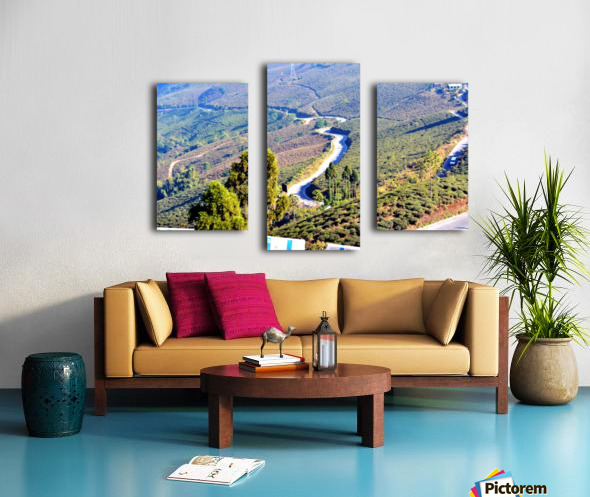 HIMALAYAN ROAD Canvas print