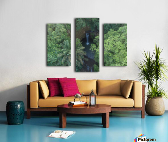 Tibumana waterfall - Bali Canvas print