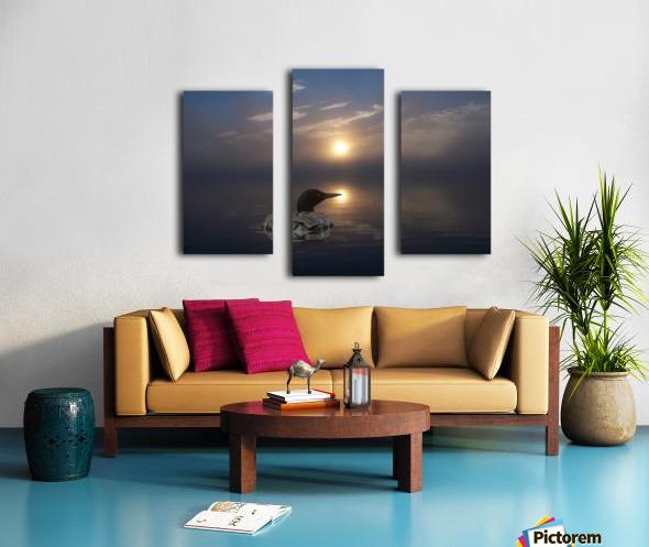 LoonAtSunrise_1527463927.19 Impression sur toile