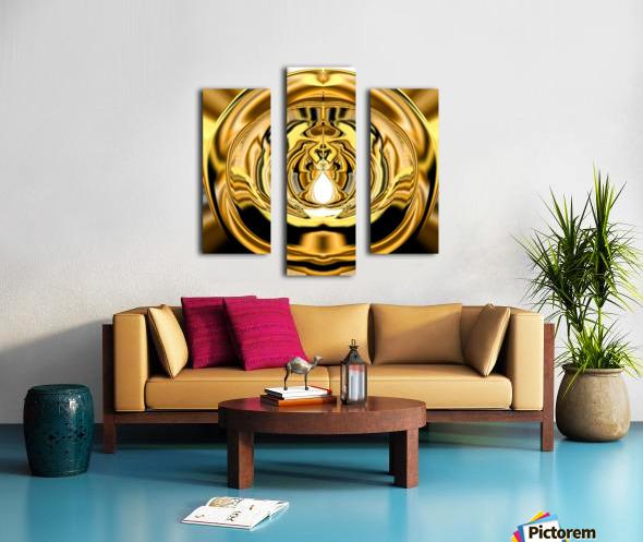GoldTone3 Canvas print
