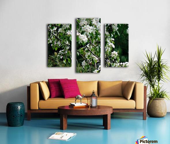 DazzleBlossoms Impression sur toile