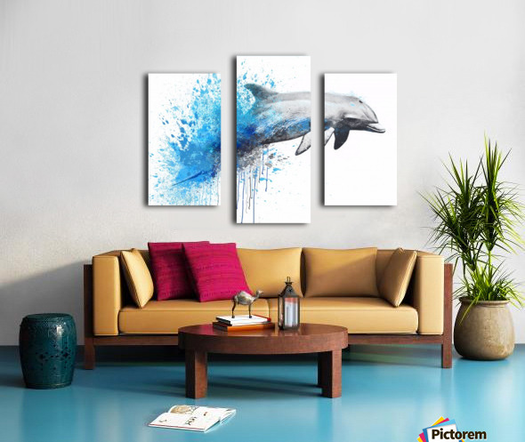 dauphin Canvas print