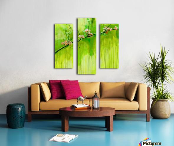 Green Spring Canvas print