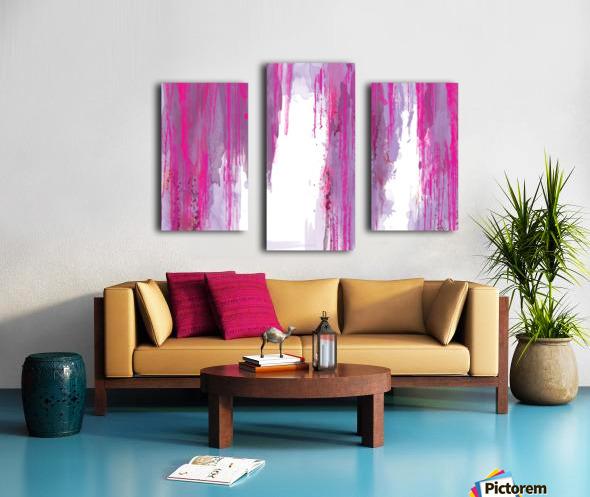 Rainning Canvas print