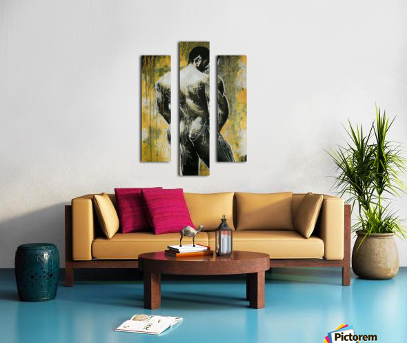 Profil Canvas print
