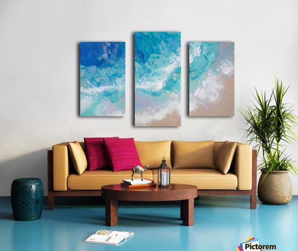 Guadeloupe Canvas print