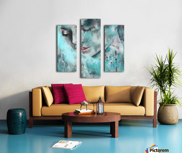 Demoiselle Canvas print