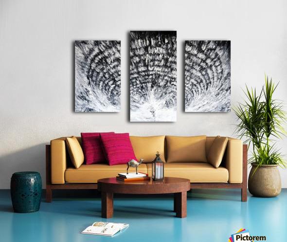 palatial Canvas print