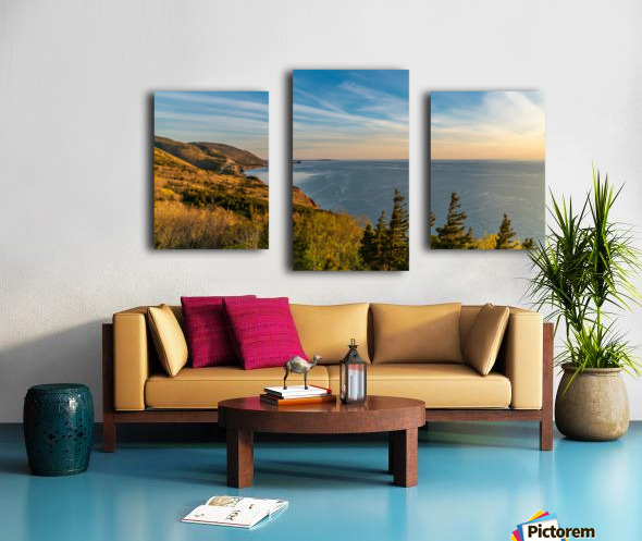 Coastal Pleasures Canvas print