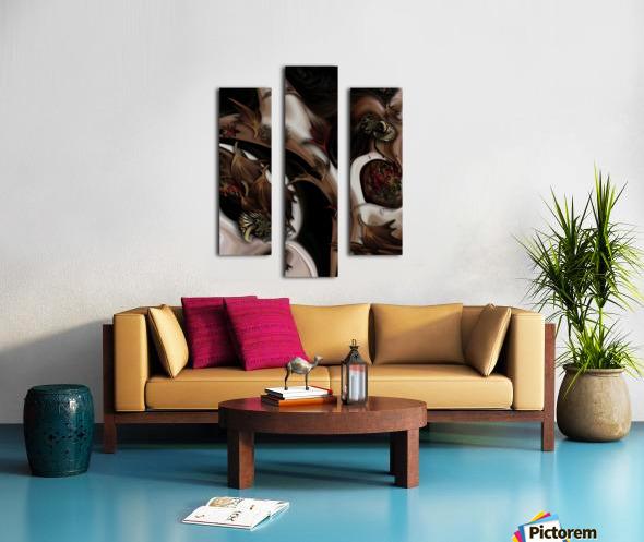 Juxtaposed Nature  Canvas print