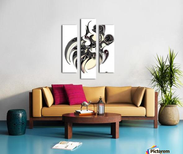 Perceptive Formation Canvas print