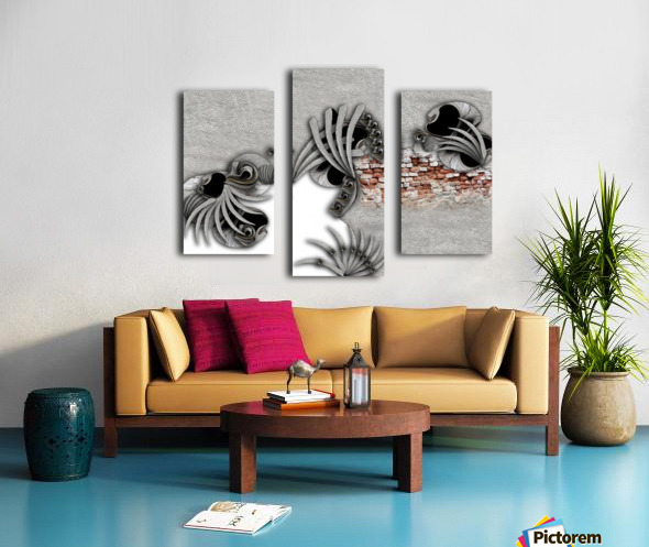 Supposed Emotion Canvas print