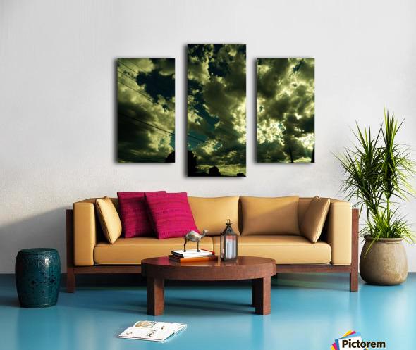 B (1) Canvas print