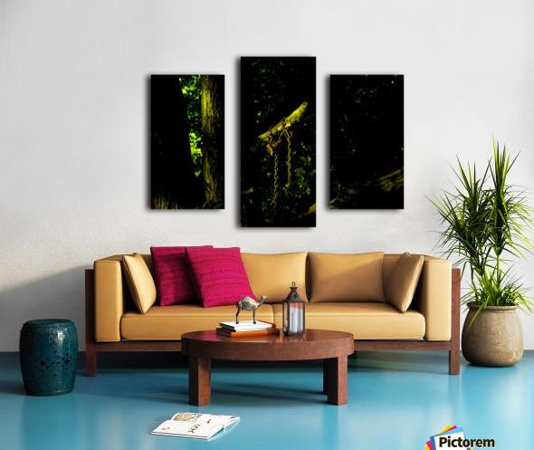 B (4) Canvas print