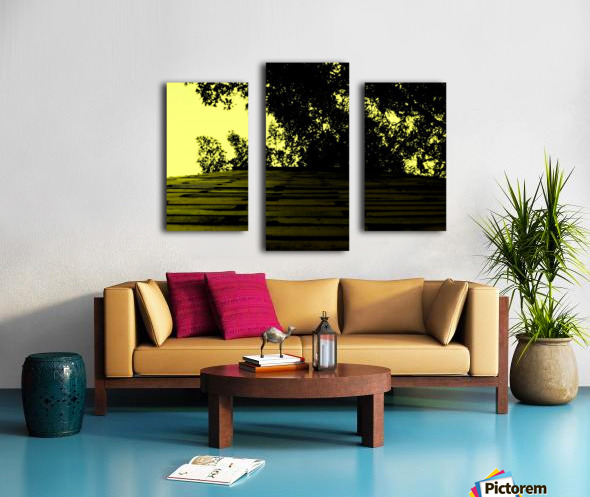 C (15) Impression sur toile