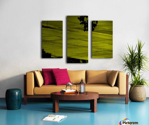 H (12) Impression sur toile