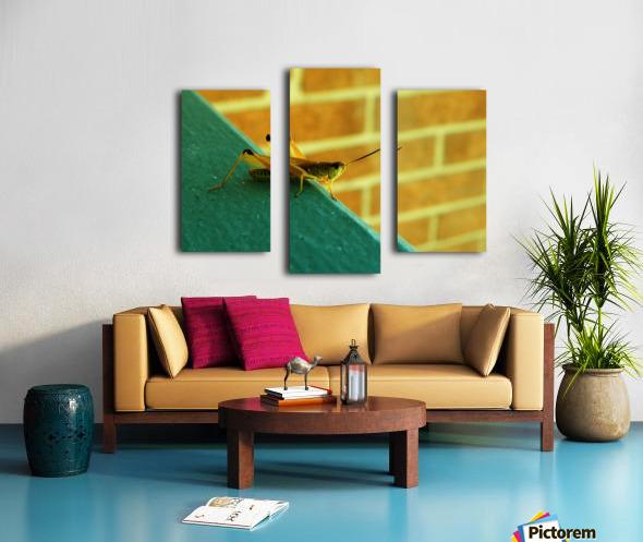 H (10) Canvas print