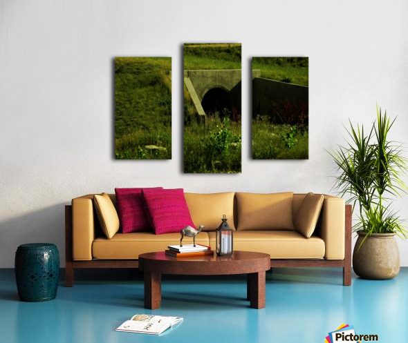 H (3) Canvas print
